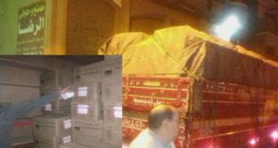 ضبط 20 ألف زجاجة محلول و14 ألف أمبول لعلاج الجلطات نواقص الأدوية
