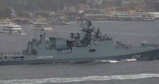 روسيا ترسل سفنها الحربية المضادة للصواريخ الأميركية إلى سوريا