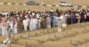 سعودى ينبش قبر بحثاً عن iphone 7
