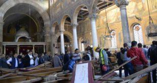 داعش يعلن مسؤوليته تفجير الكنيسة البطرسية بالقاهره المنفذ الدولة الاسلامية