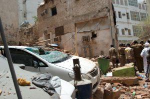 فيديو إحباط عملية إرهابية كانت تستهدف الحرم المكي و تتفجير الانتحاري نفسه