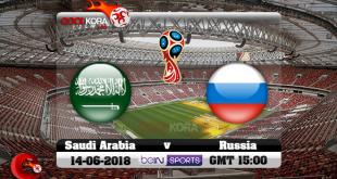 مباراة السعودية و روسيا في افتتاح كأس العالم الخميس