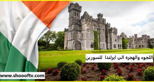 كيف السفر اللجوء الى ايرلندا الحصول اقامه و الجنسية للسورين