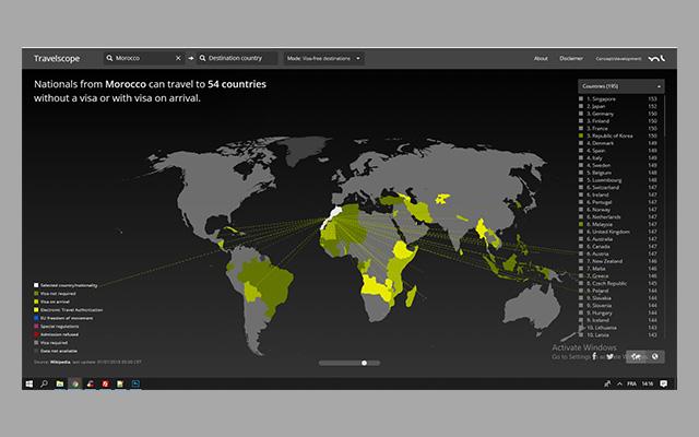 كيف تعرف البلدان التي يمكنك السفر إليها بدون فيزا حسب جنسيتك