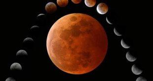 خسوف القمر كيف صلاة الخسوف فعل الرسول