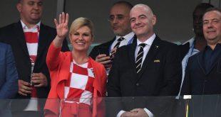 رئيسة كرواتيا توعد بإصدار مليون فيزا سياحة مجانية و بدون أي قيود لزيارة كرواتيا و الإستمتاع بها لو فازت كرواتيا بكأس العالم