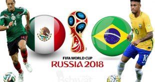 بث مباشر مباراة البرازيل والمكسيك في كاس العالم روسيا 2018