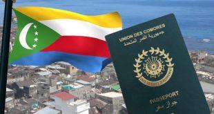 الهجرة الى جزر القمر جواز سفر العمل