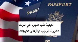 كيفية طلب اللجوء الي امريكا الشروط الواجب توافرها و الاجرائات
