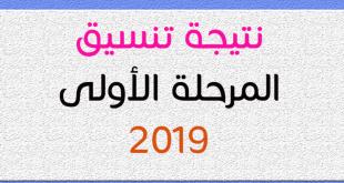 نتيجة تنسيق المرحلة الأولى للثانويه العامه 2019 بالاسم و رقم الجلوس
