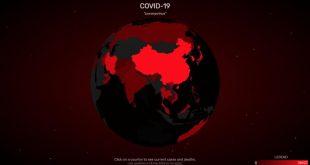 إحصائيات إنتشار فيروس كورونا مباشر